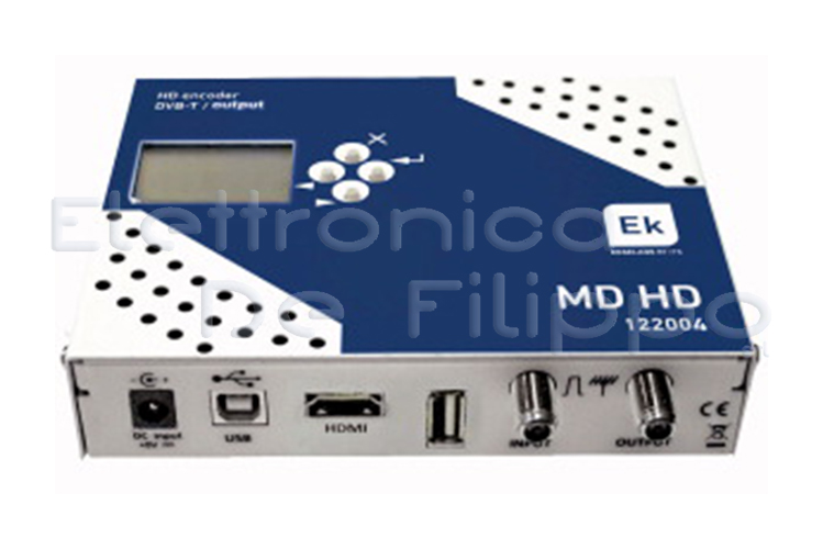 MODULATORE DIGITALE ENCODER COFDM QAM MD HD EK 559950