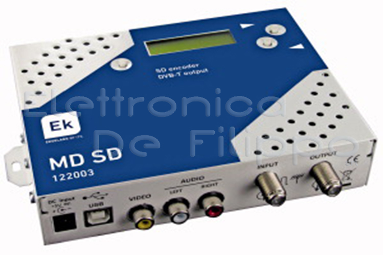 MODULATORE DIGITALE ENCODER COFDM MD SD EK 559896