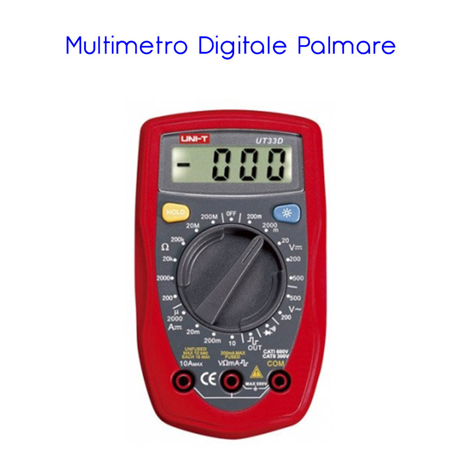 MULTIMETRO DIGITALE PALMARE UNI-T UT-33D