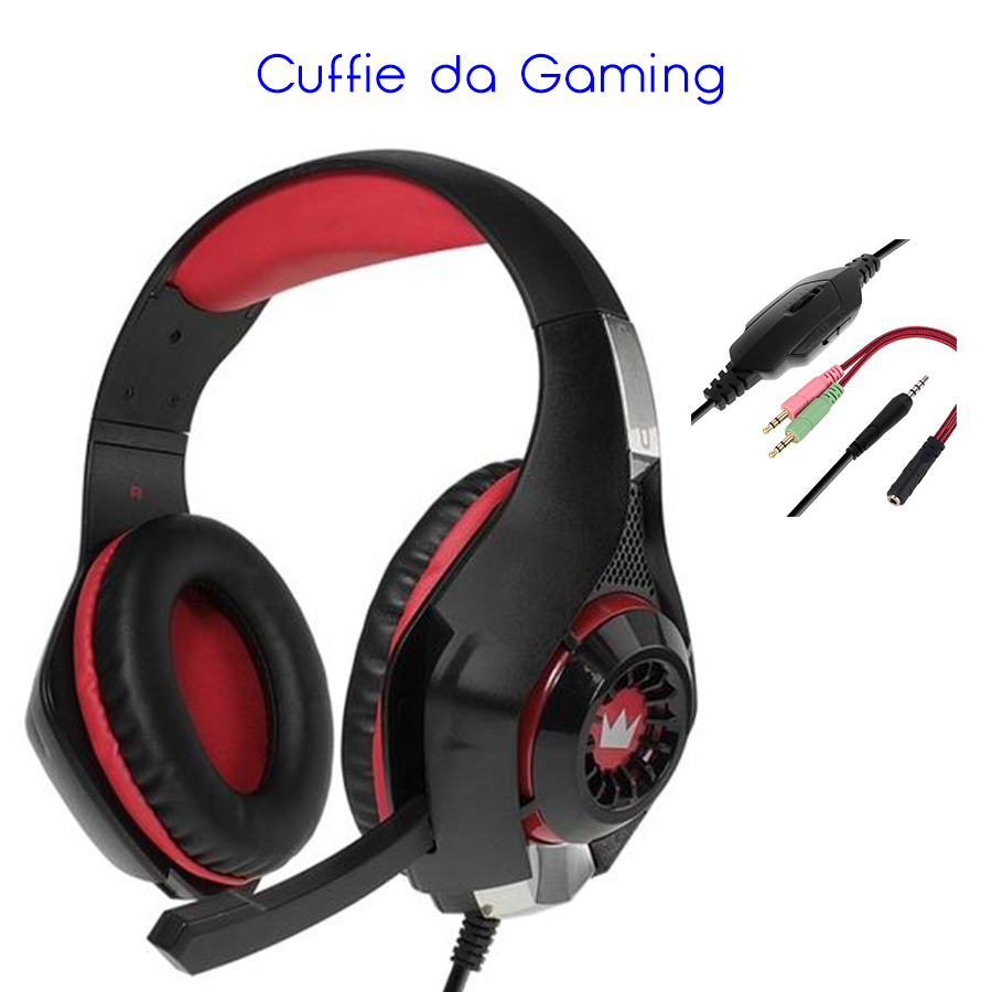 Cuffie da Gaming per PC - Ideale per Battlefield e Call Of Duty