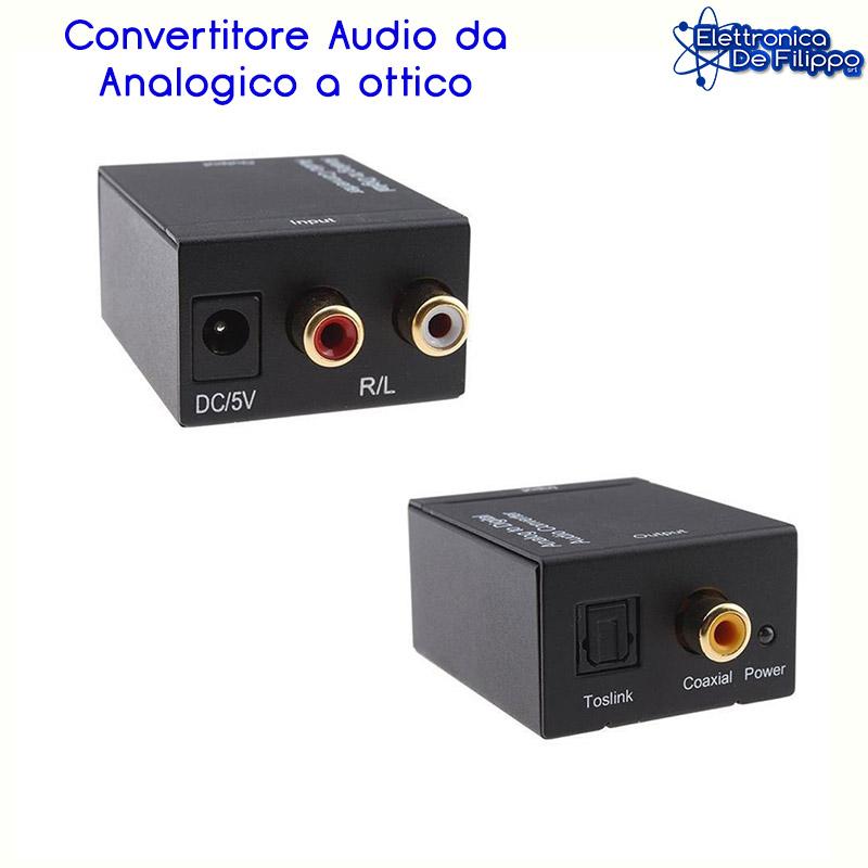 CONVERTITORE AUDIO ANALOGICO / DIGITALE GBC KONELCO Cod. 14153615