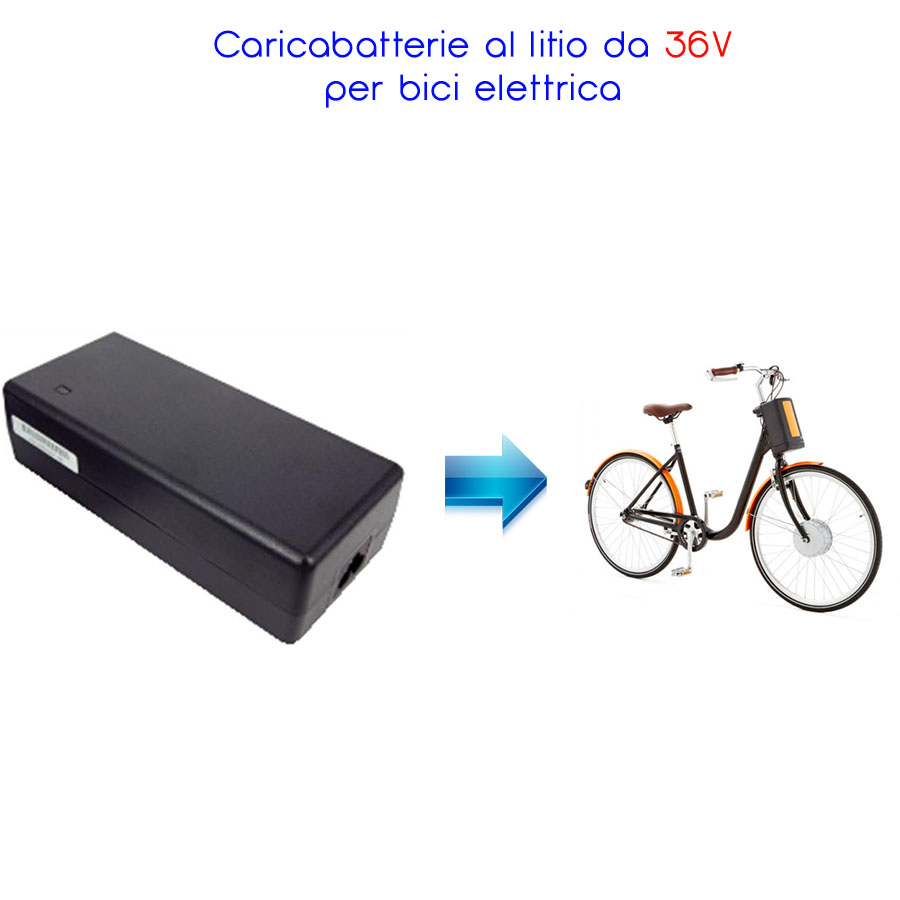 CARICABATTERIE SWITCHING PER BATTERIE IONI DI LITIO 42V 2A SPINOTTO 5,5x2,5mm