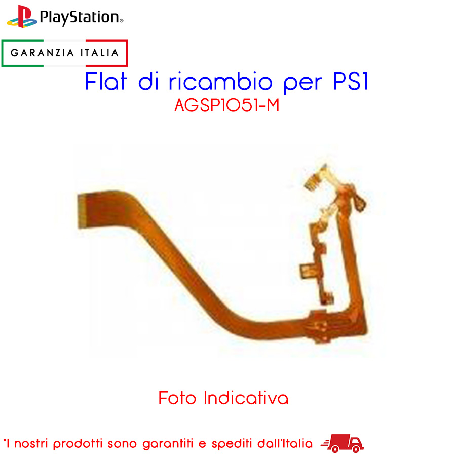 Flat di Ricambio per Sony Playstation PS1 - AGSP1051-M