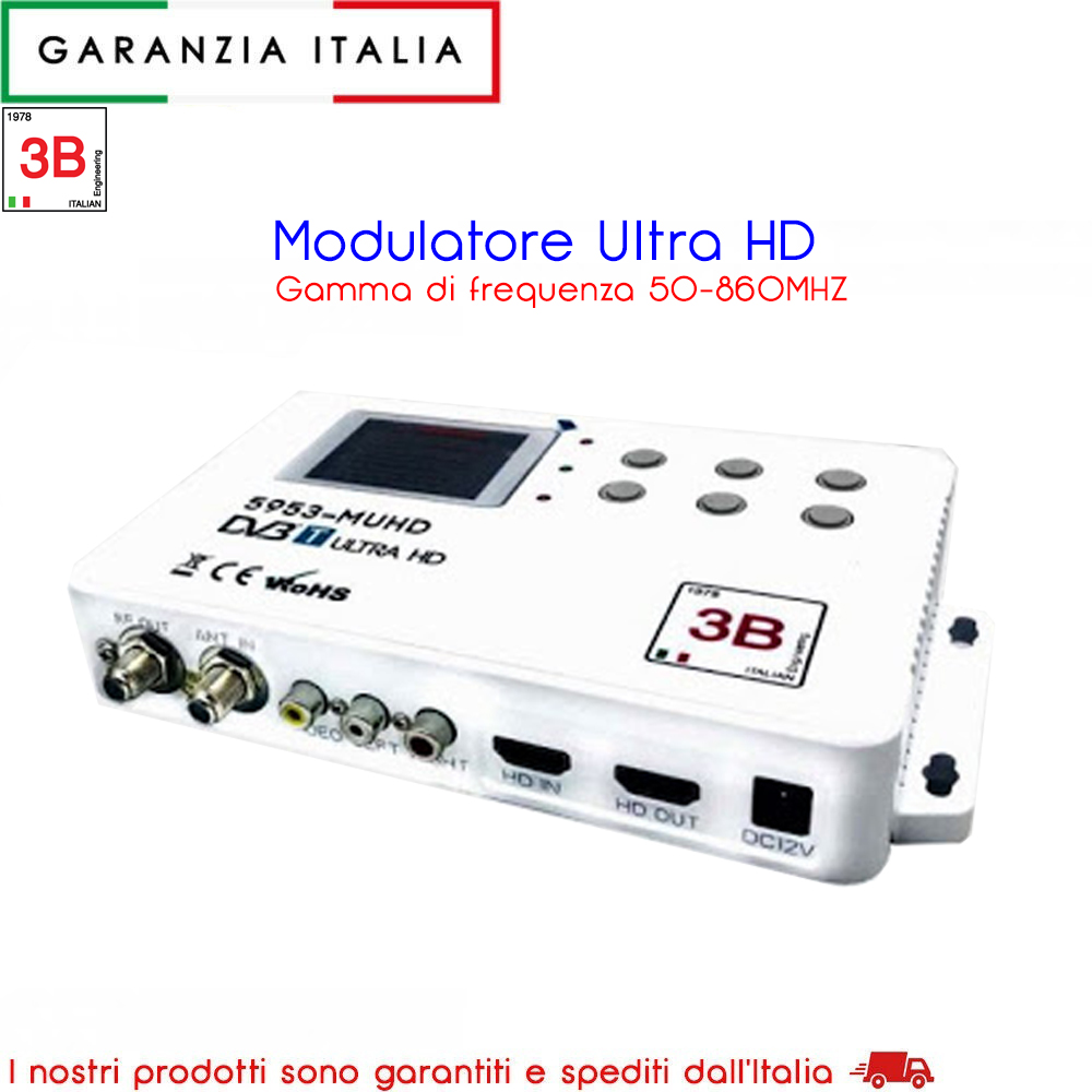 Modulatore Ultra HD 5953-MUHD