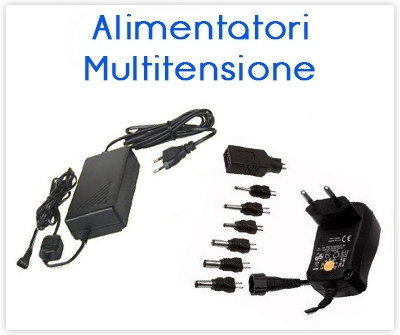 Alimentatori Multitensione