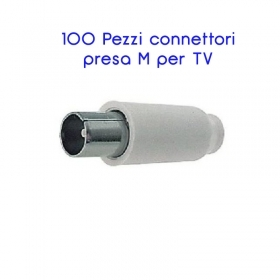 CONNETTORE SPINA MASCHIO TV CO