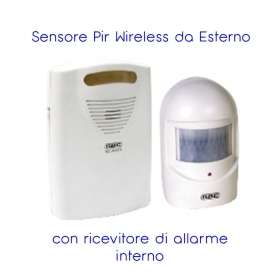 SENSORE PIR WIRELESS DA ESTERN