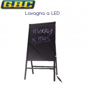 LAVAGNA LED LUMINOSA CON STAND