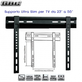 "SUPPORTO ULTRA SLIM PER TV LED DA 23"" A 55"" 65835000"