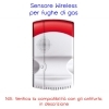 SENSORE WIRELESS FUGHE DI GAS PER 67320060 COD.67320078