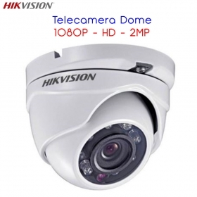 Hikvision HD-TVI CCTV Telecamera a cupola in metallo 1080P 2MP IR DS2CE56D0TIRMF