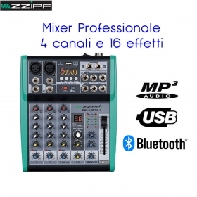 MIXER CON USB BLUETOOTH MP3 -