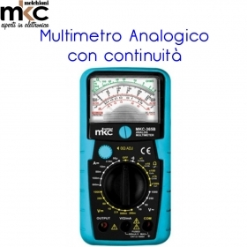 MULTIMETRO ANALOGICO CON CONTI