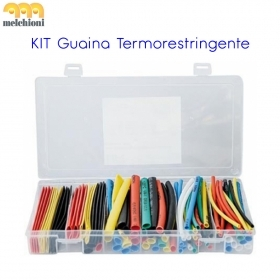 SET GUAINA TERMORESTRINGENTE VARIE MISURE MULTICOLOR  GT/1000