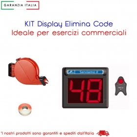 KIT DISPLAY ELIMINA CODE A 2 CIFRE 35/25025-00