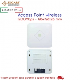 Access Point Wireless alta velocita' 1200Mbps, con 2 porte 10/100/1000Mbps RJ45