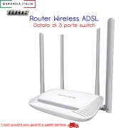 ROUTER WIRELESS N300 3 PORTE SWITCH
