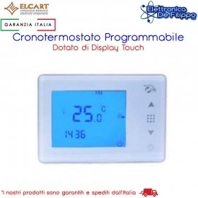 Cronotermostato , touch screen