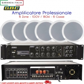 AMPLIFICATORE PROFESSIONALE PE