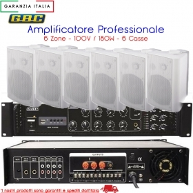 AMPLIFICATORE PROFESSIONALE MU