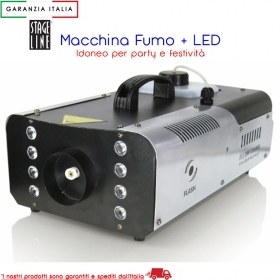 FLASH MACCHINA DEL FUMO CON LED RGB F5000281
