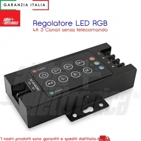Interruttore Dimmer Infrarosso - 12/24/36Vdc - 8A