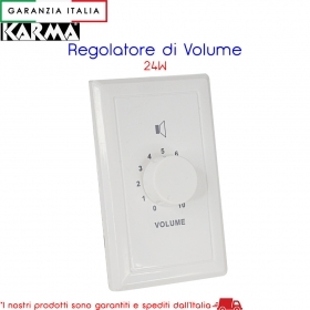 Regolatore di volume 24W - AT 24 Karma Italiana