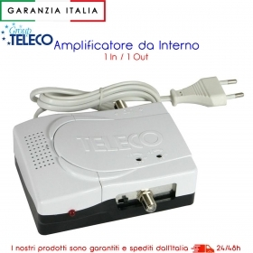 AMPLIFICATORE DI LINEA TV 30db