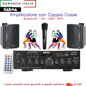 KIT PA2380BT amplificatore ste