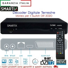 DECODER DIGITALE TERRESTRE DVB