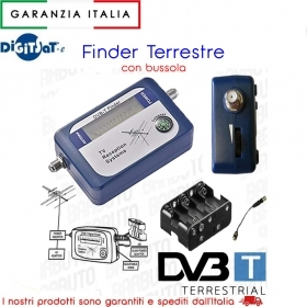 DTT FINDER CON BUSSOLA DIGITSAT PER DECODER SATELLITARI 5509395
