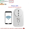 PRESA WIFI SPINA 16A HOME-IO INTERRUTTORE SWITCH ALEXA GOOGLE CONTROLLO CARICHI