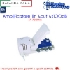 AMPLIFICATORE 1IN 4OUT 4X100dB EK