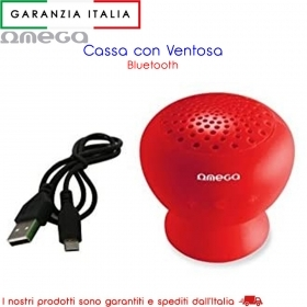 Altoparlante Impermeabile Bluetooth MP3 - Rosso