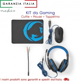 Kit da Gaming 3-in-1 Cuffie, M