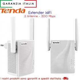 ESTENSORE N WIRELESS 300MBPS MURO PLUGGED TENDA NT-A301