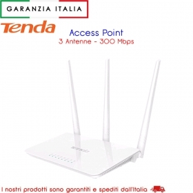 ROUTER WIRELESS  ACCESS POINT 300MBPS 2,4G PER LINEA INTERNET