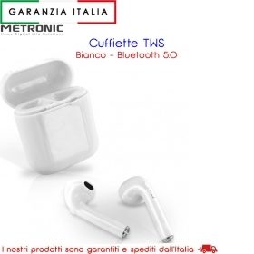 Auricolari / Cuffiette Bluetooth wireless TWS - Bianco - KAORKA - V 5.0