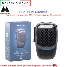 Radio, CB Dual Mike Wireless,