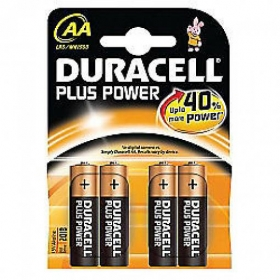 BATTERIE STILO DURACELL PLUS P